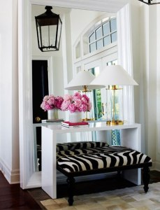 Fashionable Foyer