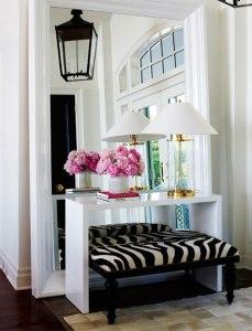 Fashionable Foyer
