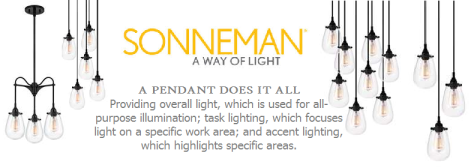 Sonneman Lighting Pendants