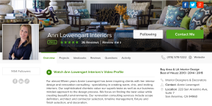 Anne Lowengart Best of Houzz 2015