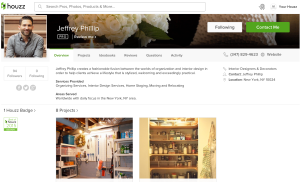 Jeffrey Phillip, Best of Houzz 2015.