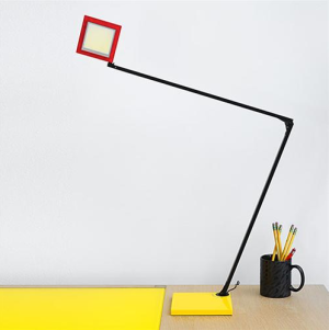 Red/Yellow/Black Quattro LED Task Light - Sonneman